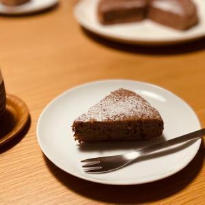 チョコチップに代わり、代打、ココア 〜バナナココアケーキ〜