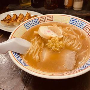桑園駅高架下にて哀愁と郷愁を感じる優しいラーメンに出会った 〜餃子と麺 いせのじょう しょうがラーメン〜