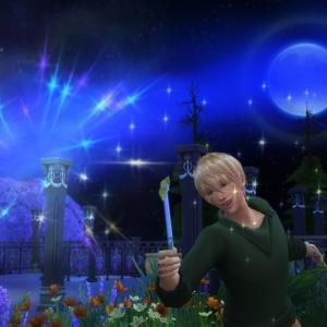 ユーリの魔法使い修行(2)先生こっちを見て下さい!