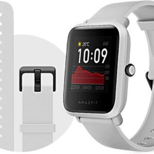 【Amazfit Bip Sレビュー】Apple Watchに似てるコスパ良し&バッテリー長持ちのスマートウォッチ