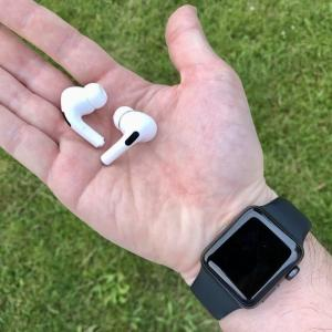 ランニング中のApple WatchとAirPods Proの組合せが便利すぎて最強な件