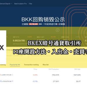 仮想通貨取引所BKEXの口座登録ログイン方法|BKKトークン保有で毎日配当!