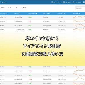 匿名取引!ライブコイン(LIVECOIN)仮想通貨取引所の口座開設方法と使い方