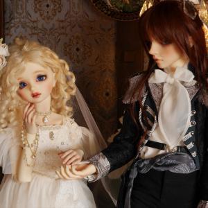 ヴェーラさんの結婚式?!素敵な純白のドレス