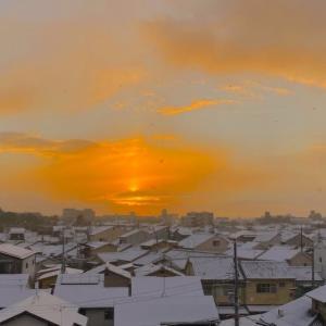 雪、雪ダァ~~、