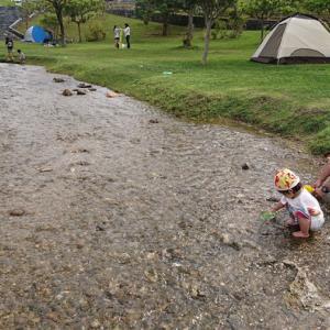 【キャンプの暑さと安全対策】火を使わないキャンプを考案してみた
