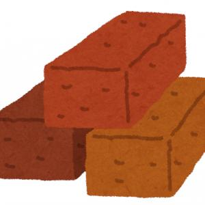 【DIY】玄関前アプローチのブロック敷き(2)