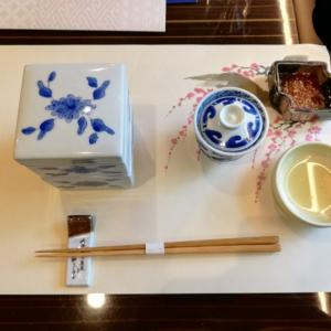 梅の花で秋の和食コース料理を堪能