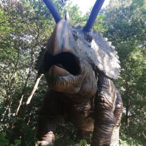 大高緑地のディノアドベンチャー名古屋で恐竜を見てきました