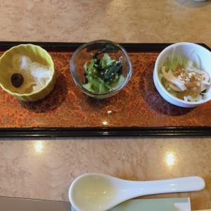 お腹も心も満たされる「中国料理 四季亭」でランチしました
