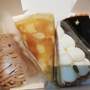 オシャレカフェ「Cafe de lis blanc(カフェドリブラン)」のケーキ