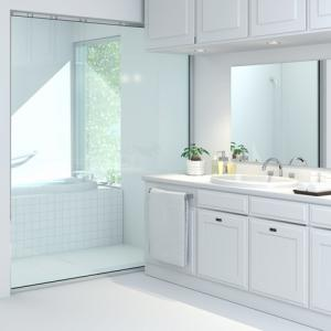 洗面所の改修工事♪洗面台と床張り替えのタイミングは?