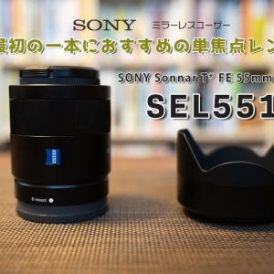 SEL55F18Z | Sonyミラーレスカメラで最初の1本におすすめの単焦点レンズ【レビュー】