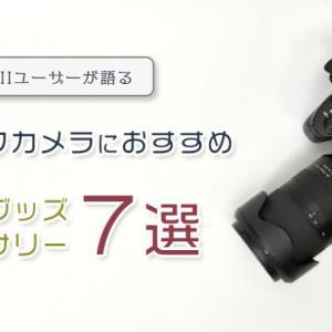 α7IIIユーザーが語る!一眼レフカメラにおすすめの便利なカメラグッズ・アクセサリー7選