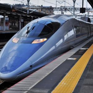 広電と新幹線撮影② 東広島駅上りホーム