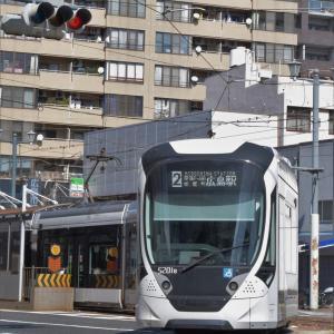 広電と新幹線撮影④ 市内線