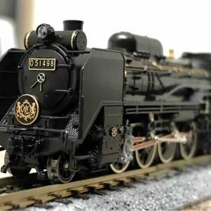 KATO D51 498 オリエントエクスプレス'88 入線