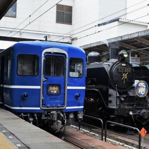観光列車と温泉巡り③ SL大樹