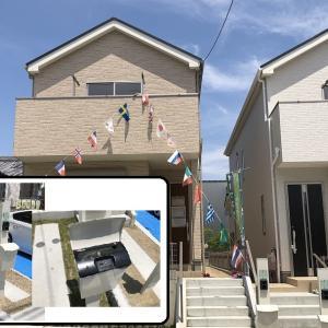 飯田産業の建売住宅の門柱・宅配ボックスは?【表札の注文方法】