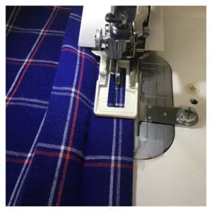 比翼シャツ、縫い工程のやっかいな点