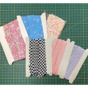 余り布の定番活用法とハンカチ作り