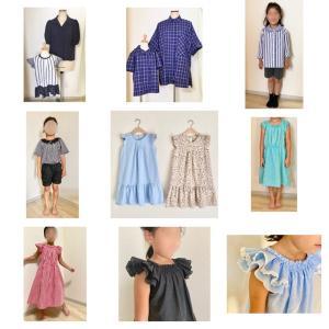 2020上半期  作った子供服
