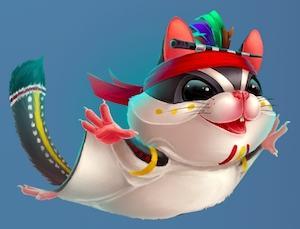 Casinoin/カジノイン 猫?ムササビ?モモンガ?みたいな可愛いキャラクターを使っているオンラインカジノの紹介!?