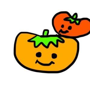 よく柿食う奴だ。