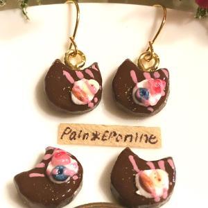 【新作】バレンタインにも♪にゃんこチョコレートケーキ♡