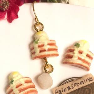 【新作】レモンアイスパンケーキのミニチュア雑貨♡