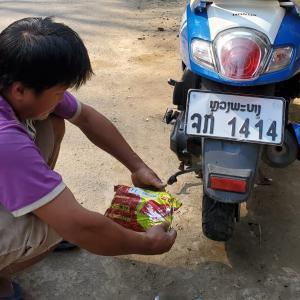 【トラブル話】ラオス・ルアンパバーンでレンタルバイクを借りたら…