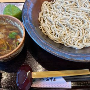鴨蕎麦つけ麺