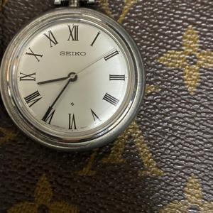 ロードマーベル36000 銀懐中時計