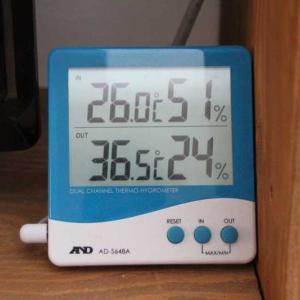小屋裏の温度(2回目)