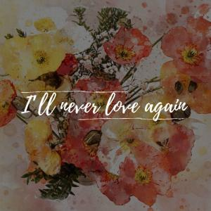 I'll never love again 187