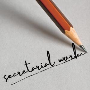 secretarial work 7