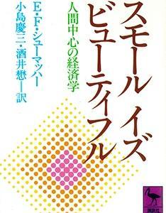 スモールイズビューティフルと現代日本