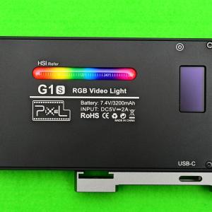 PIXEL G1S LEDビデオライトを買ってみた。