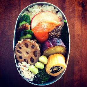 土鍋焼き芋と鮭弁の話とブログ名の話