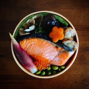 【朝活】海鮮釜めしのお弁当