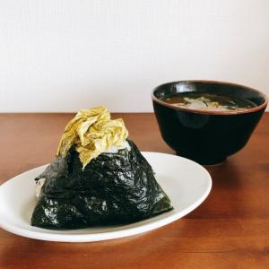 【朝ごはん】シンプルな朝ごはん