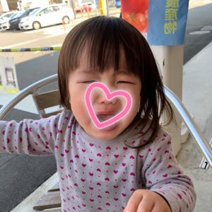 2歳女子のイヤイヤ期…すごい。
