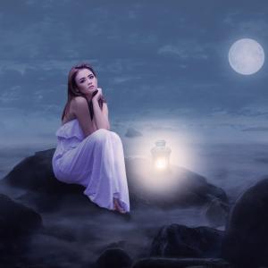 愛を意識させるそんな満月のエネルギーでした