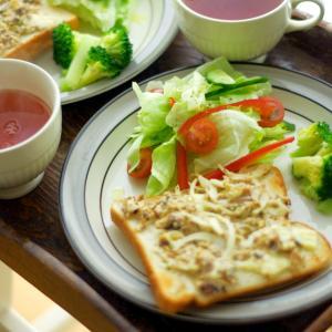 簡単3ステップ!ワンプレートのサラダの盛り付け
