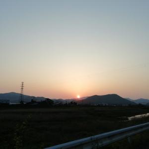今日も暑い位の夏日でしたけど、夕方はいい気持ちです