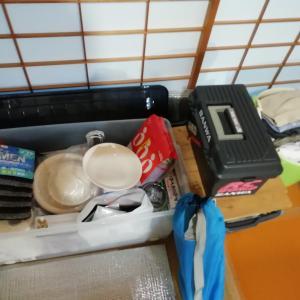 さあてと❕ お盆休みはもうすぐです😊 三密避けて、サーフトリップキャンプの支度も整って来ました(^▽^)