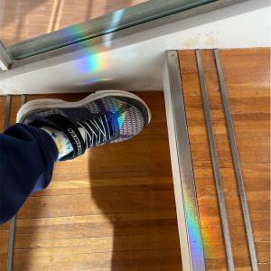 靴にレインボー🌈