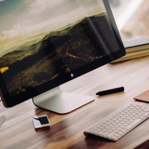Mac ディスプレイの画面を広げる・解像度を上げる