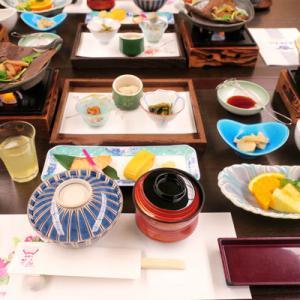 2020年12月岐阜旅行2日目①:飛騨亭花扇の朝食