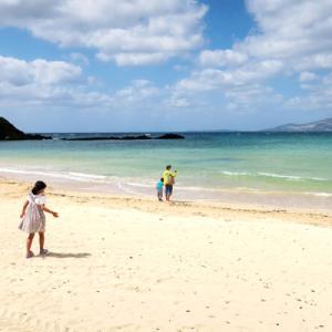 2021年3~4月沖縄旅行4日目②:ハレクラニ沖縄のビーチ